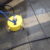 Calgary tile grout care expert hard surface for Deck and concrete cleaner